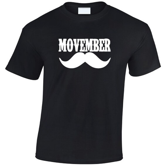 Movember Moustache T-Shirt. Moustache Shirt  Moustache Gift. Funny Moustache Tee. Movember Shirt. Movember T-Shirt.