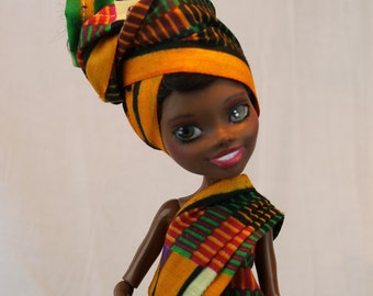 Shaharra - African dress doll