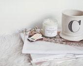 Sandalwood Nutmeg Essential Oil Candle
