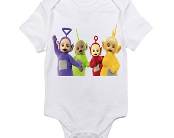 custom baby onesie Teletubbies