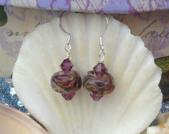 Lampglass Earrings
