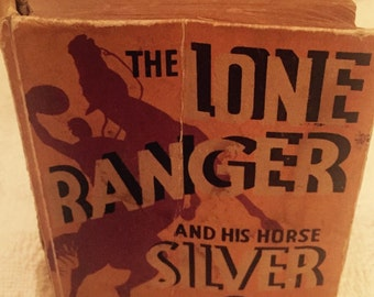 Vintage little book 1935 Lone Ranger and his horse silver 1935