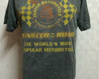Indian Motorcyle Washed Style Tshirt