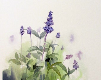 ORIGINAL Watercolor Painting, Watercolor flowers, Home Decor, paintings, Watercolor Paintings, Watercolor Painting, watercolor flower,