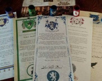 Sons of Gruumsh Melvaunt Noble Family Letters - Bruil, Nanther, Leiyraghon, Marsk and Calaudra