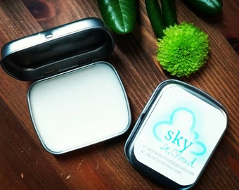 NEW tin size! All natural acne spot treatment balm handmade with calendula tea tree oil and lavender