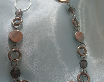 Silver Toned Costume Necklace