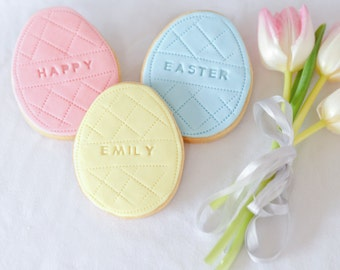 Easter gifts , Personalised Easter Cookie Gift Set, Easter biscuits, Happy Easter, Easter iced biscuits, Easter cookies, Gifts for kids