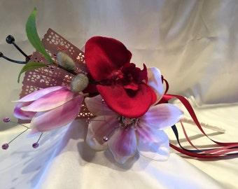 Mulan Inspired Wedding Wand Flowergirl wand