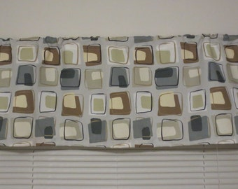 CLEARANCE!!  Window Valance, Standard Window Size