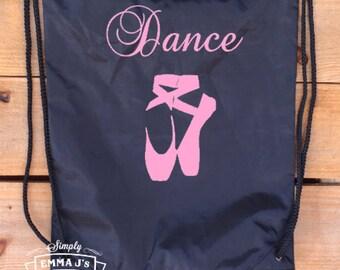 Backpack, sports bag, shoe bag, ballet, ballet bag, custom backpack, ballet shoes, dance bag, dance backpack