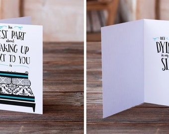Funny Love Card | Funny Wedding Card | Funny Anniversary Card | Valentine's Day Card | Funny Card | Sarcastic Card | Inappropriate Card