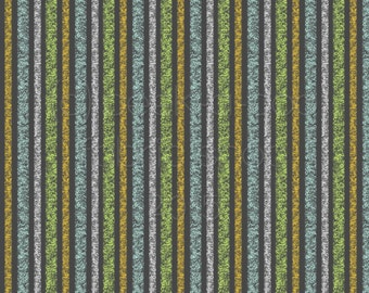 KNIT: PAB Chalk Stripe Cotton Lycra Knit Fabric. Sold by the 1/2 Yard
