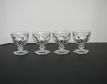 Set of Four Dessert Glasses