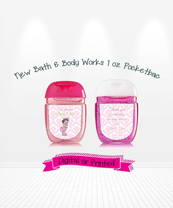 baby ballerina baby shower favors bath body works new pocketbac hand