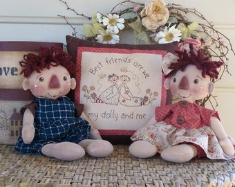 Archie and Emily Pattern by Annie Smith Designs