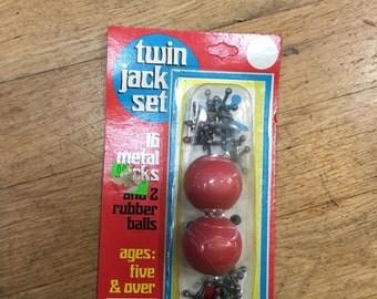 Antique Twin Jack Set