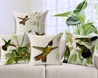 Items similar to 16x16 inches decorative pillow cover with for Plante verte decorative