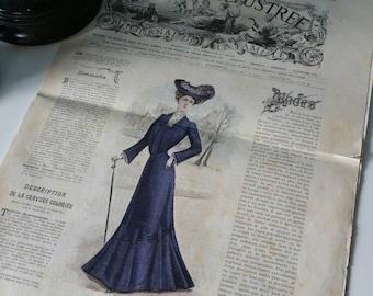 La Mode Illustré antique French fashion magazine 26 October 1902