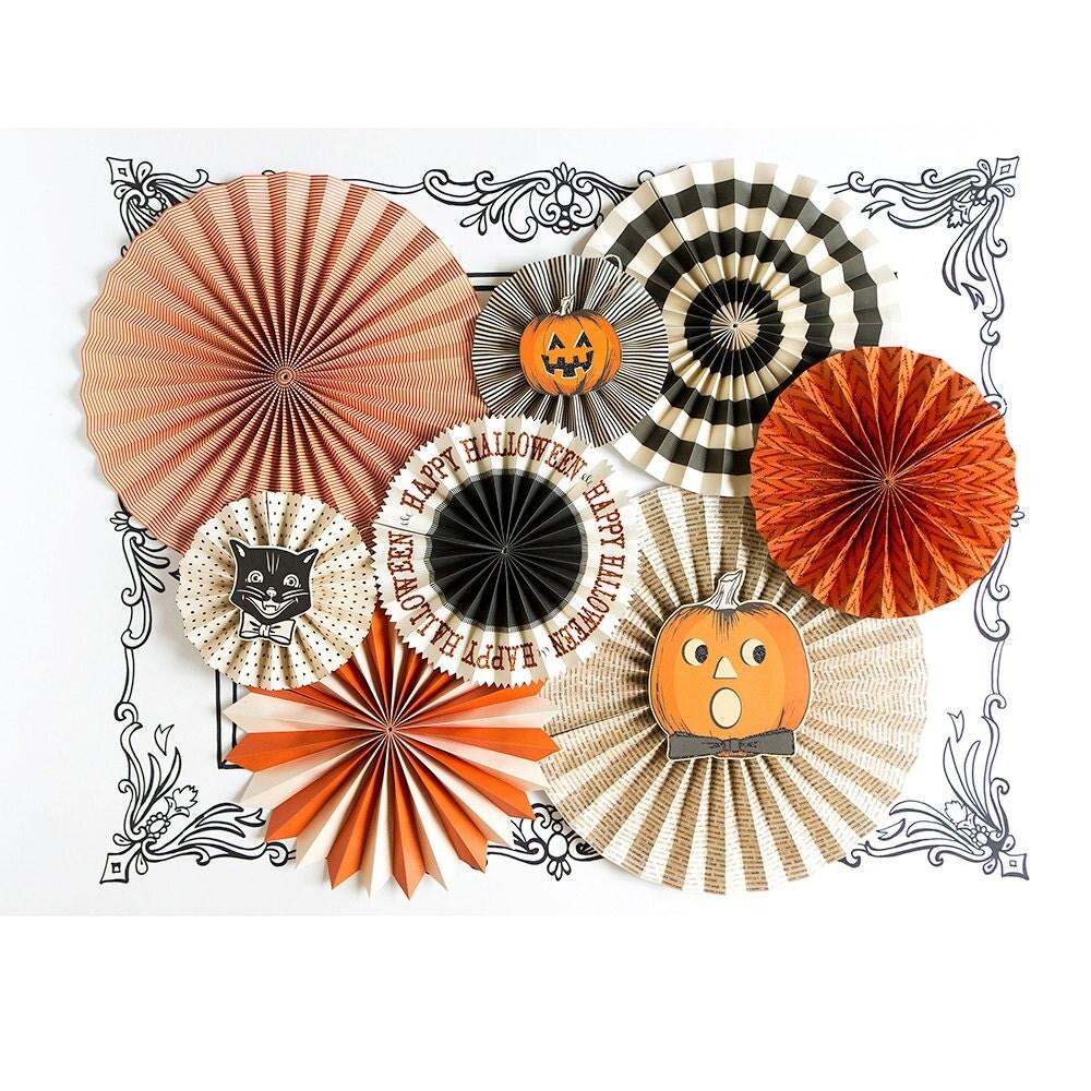 Decorating Ideas > Halloween Decorations Paper Fans Halloween Party Party ~ 071241_Halloween Decoration Ideas Paper