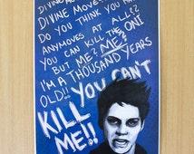 Teen Wolf - Void!Stiles, Poster. (Feat. Stiles, Dylan O'Brien)