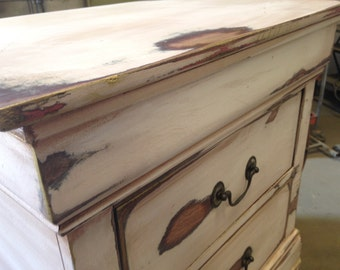 Distressed Nightstand