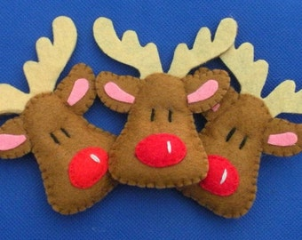 Reindeer Christmas ornament.