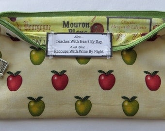 Persette #231 Personalized Zippered Organizing Pouch