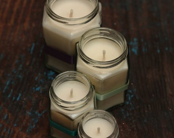 X - Large Jam Jar candles 100% natural wax, choose from 50 different scents