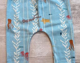 In the Kelp organic baby leggings by RBLeggings