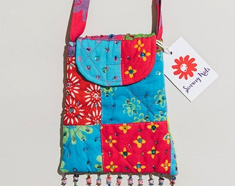Sling Bag - Patchwork with Beads