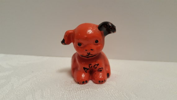 Hines ACCO Pup Cast Iron Advertising Paperweight