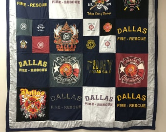 Large Throw T Shirt Quilt