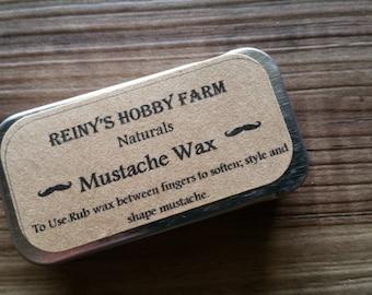 Natural Mustache Wax