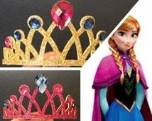Anna Crown,Anna Headband,Elsa Crown,Frozen Headband,Frozen Elsa Headband,disney princess crown,Princess headband,Princess Crown,disney crown