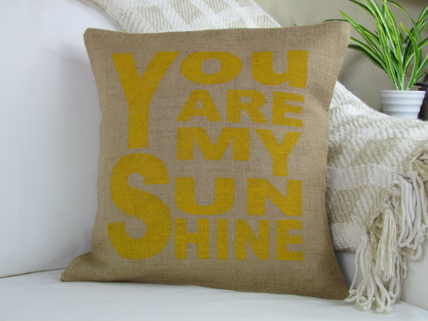 7 Inspiring Kid Room Color Options For Your Little Ones: You Are My Sunshine Pillow Nursery Pillow Decorative Pillow