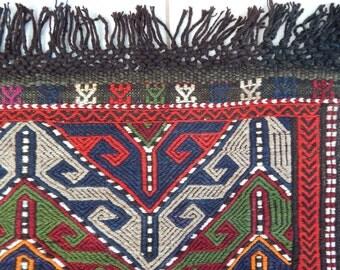 3'3''x4'4'' / 98x133cm  Vintage Kilim Rug