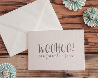 Woohoo Congratulations Card