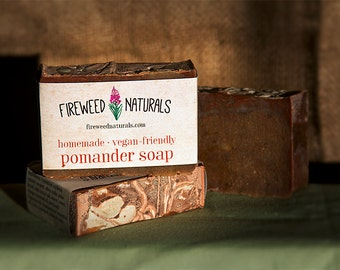 Pomander Soap Bar - Vegan Friendly, Cold Process