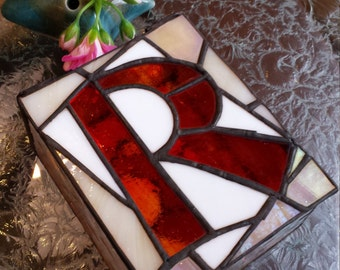 Colorful Stained Glass Box