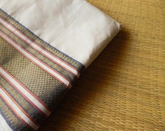 1 yard of South Cotton Fabric, Handwoven Fabric, Indian Cotton Fabric, Indian Fabric, Off White Fabric