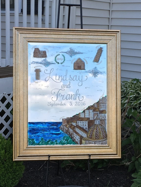 Wedding Gift Glass Painting : Bridal Shower Gift, Wedding Welcome on Glass, Custom Wedding Sign ...