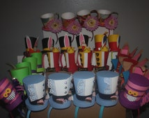 Alice in wonderland party hats