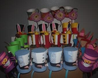 Alice in wonderland party hats