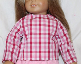 18 inch doll shirt, doll shirts, fits 18 inch dolls like american girl dolls, doll clothes, american girl clothes, doll outfits