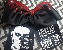 American Horror Story Cheer bow