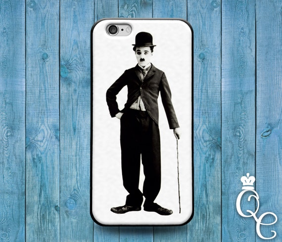 iPhone 4 4s 5 5s 5c SE 6 6s 7 plus + iPod Touch 4th 5th 6th Generation Cute Funny Classic Cool Black White Charlie Chaplin Phone Cover Case