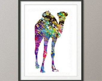 Watercolor Camel Print, Camel Print, Camel Painting, Camel Poster, Camel Wall Decor, Camel Art, Camel Wall Art, Home Decor