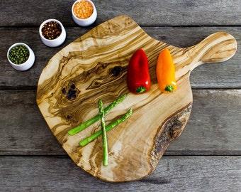 "Rustic Olive Wood 15"" Cutting / Cheese Board (CPH40)"