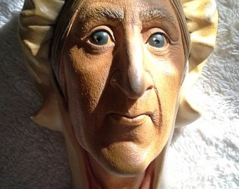 Betsey Trotwood, Bosson, Character head, Chalk Art, England